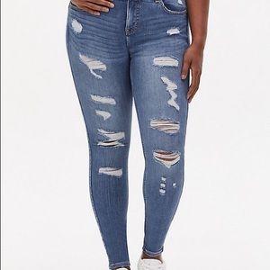 Torrid Bombshell Skinny Denim Jeans